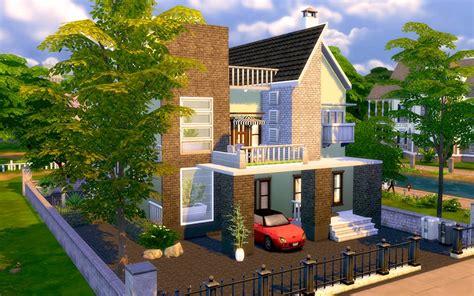sims  contemporary modern house homeless sims