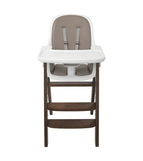 oxo tot sprout chair oxo tot sprout high chair in taupe walnut