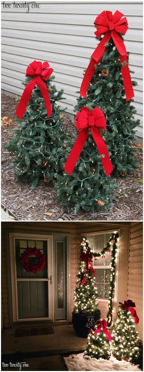 cheap diy outdoor christmas decorations christmas diy