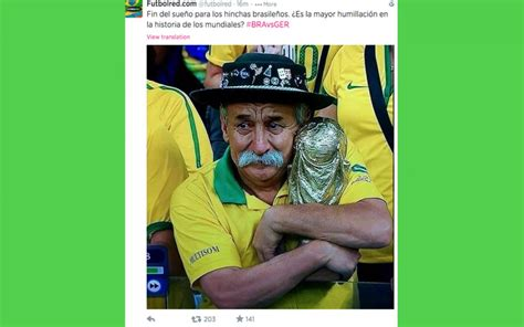 Brazil Meme - brazil vs germany massacre memes see gifs and vines of fans crying as brazilians lose 5 0 in