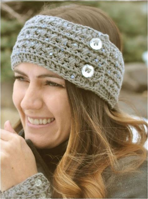 crochet hair band diy crochet headband patterns 7 free designs