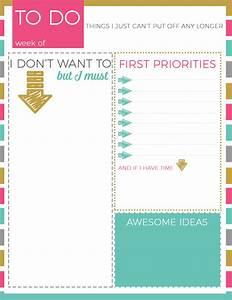 Printable To Do List - REASONS TO SKIP THE HOUSEWORK