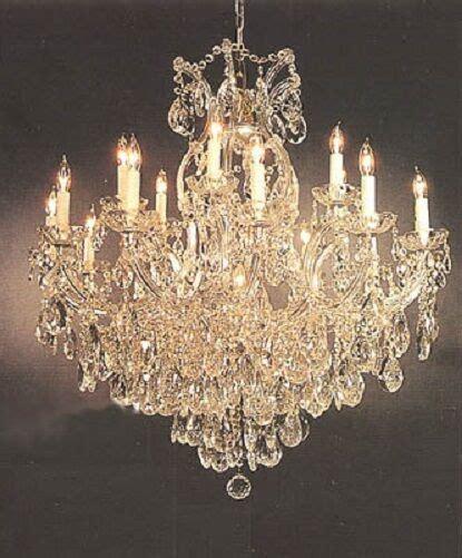 chandelier ebay 16 light theresa chandelier tear drop crystals foyer