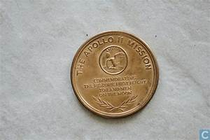 USA Maanlanding 1969 Apollo 11 - Commemorative tokens ...