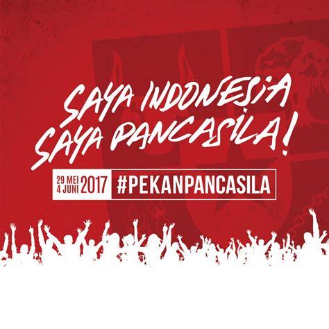 sekretariat kabinet republik indonesia peringati hari lahir pancasila pemerintah gelar pekan