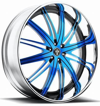 Custom Dub Flex Lug Wheels Chrome C22