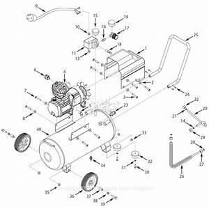 Campbell Hausfeld Hl5401 Parts Diagram For Air