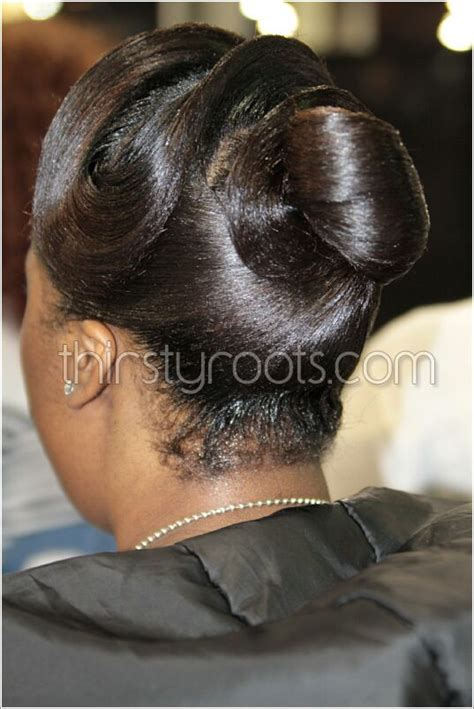 black women updo hairstyles