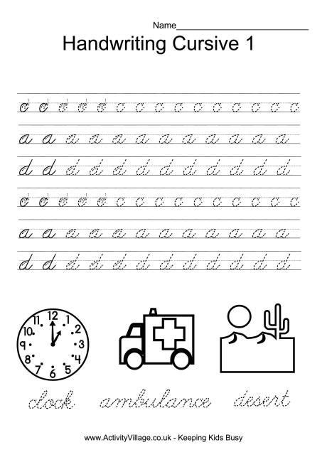 23 Best Images About Cursive On Pinterest  Handwriting Worksheets, Free Printable And Cursive