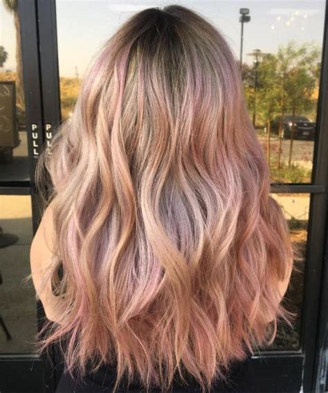 20 Brilliant Rose Gold Hair Color Ideas For 2020