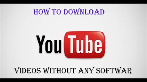 you tub downlode how to to your computer for free