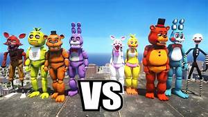 FIVE NIGHTS AT FREDDY39S VS FIVE NIGHTS AT FREDDY39S 2