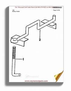 Cub Cadet Parts Manual For Model 108