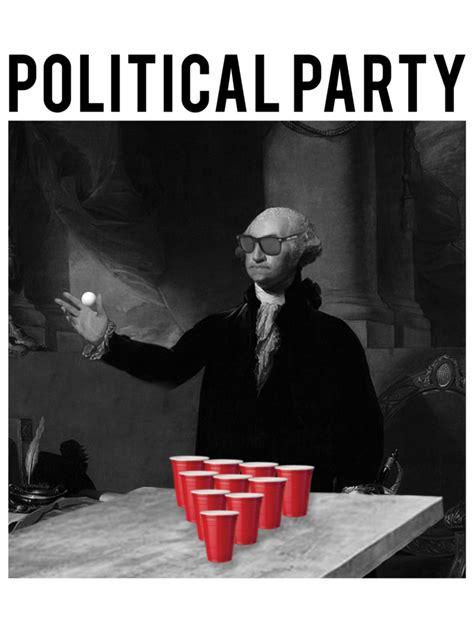 george washington political party  shirt