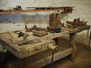 Old Woodworking Tools : Brilliant Blue Old Woodworking