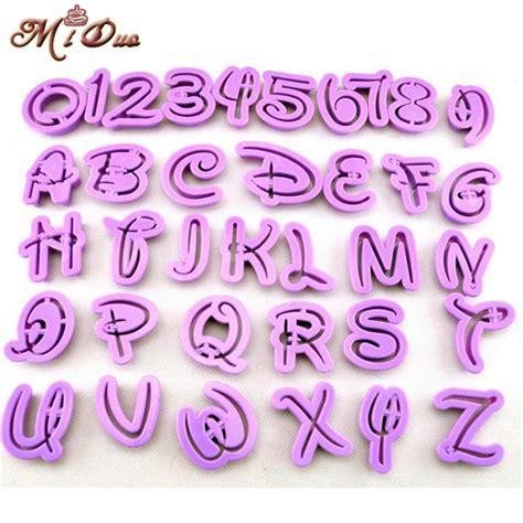 cake decorating alphabet cutters 36pcs fondant cake decoration tools fondant alphabet