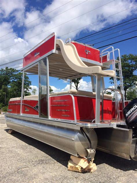 Pontoon Boats For Sale With Slide by Pontoon Slide Boats For Sale