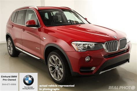 Pre-owned 2017 Bmw X3 Xdrive28i Sport Utility In Elmhurst