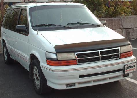 1993 Dodge Caravan by 1993 Dodge Caravan Information And Photos Momentcar