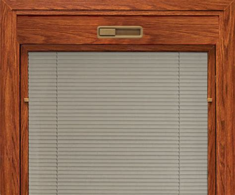 windows with blinds between the glass vinyl windows from 174 offer personal style with