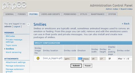 How To Manage Smilies In Phpbb