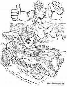 Wreck-It Ralph - Wreck-It Ralph cheering for Vanellope ...