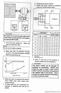 1980  U2013 1983 Yamaha Xj650 Maxim Motorcycle Service Manual   Lit