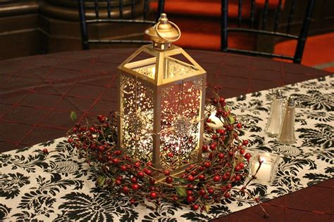 christmas wedding table decor temple square