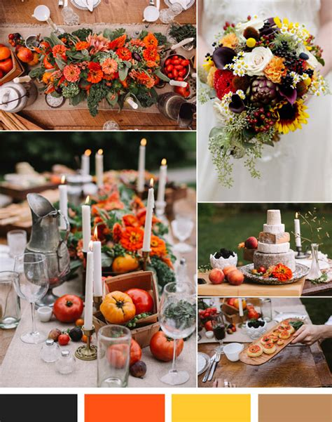 Vintage Fall Weddings—top 3 Hot Wedding Color Inspiration