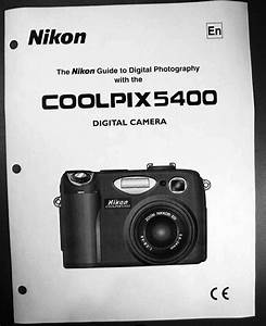 Nikon Coolpix 5400 Digital Camera User Guide Instruction