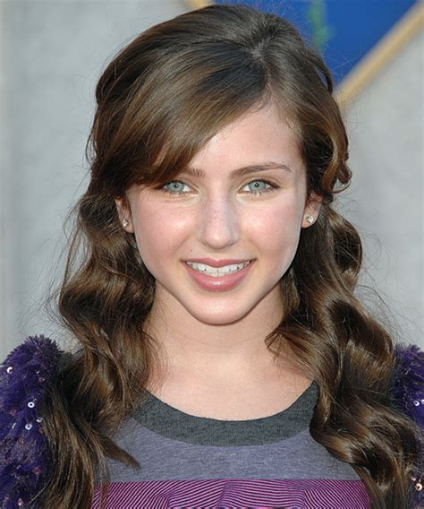 ryan newman long curly brunette   hairstyle