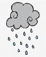 Weather Images For Kids - Rain Cartoon Png, Transparent ...