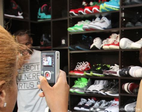 Lebron Shoe Closet by Inside Lebron S Sneaker Closet Sneakernews