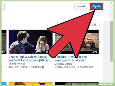ways  add subtitles  youtube  wikihow