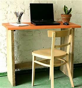 Bureau Bois Brut : bureau bois ~ Melissatoandfro.com Idées de Décoration