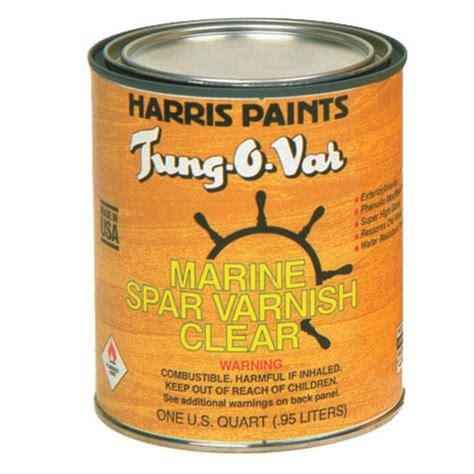 harris tung o var 1 qt spar varnish clear 31111 the