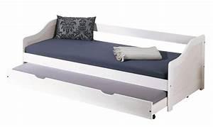 Eiskönigin Bett 90x200 : kinderbett sofabett leonie 90 x 200 kiefer massivholz wei ~ Whattoseeinmadrid.com Haus und Dekorationen