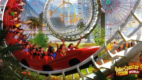 review roller coaster tycoon world inthegame