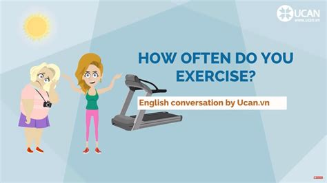 Learn English Conversation Lesson 9 How Often Do You Exercise? Youtube