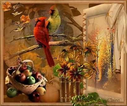 Autumn Gifs Oiseaux Centerblog Automne Birds Fall