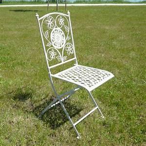 Chaise De Jardin En Fer : salon de jardin en fer forg tables chaises bancs ~ Teatrodelosmanantiales.com Idées de Décoration