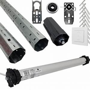 Rolladen Komplett Set : paket proheim rolladen komplett set rohrmotor ph60m 30 15 300cm rolladenwelle zubeh r ~ Orissabook.com Haus und Dekorationen