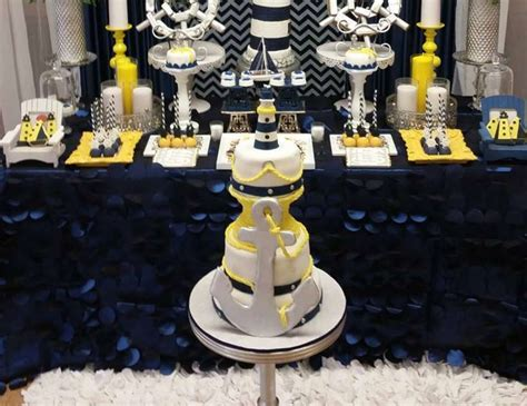 """Nautical Baby Shower Decorations For Home: Nautical / Baby Shower """"Elegant & Classy Nautical Baby"""
