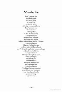 i promise you nice letter to give to your future spouse With promise ring letter for her