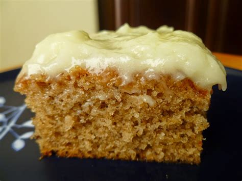 food and cook banana sheet cake with cheese frosting