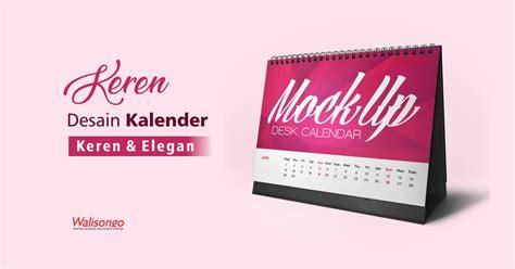 Desain kalender dinding isi 2 bulan ini simpel dan memberi ruang foto yang termuat besar, jadi cocoknya buat kalender perusahaan atau kantor dinas. Desain Kalender Keren dan Elegan Terbaru