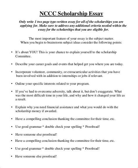 Sample Essays For Scholarships Architecture Help Writing Examples Of