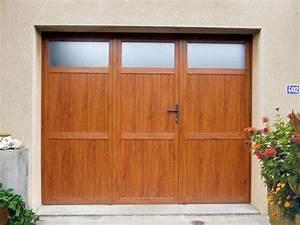 volets bois meuse fabrication volets ardennes menuisier With porte de garage 3 vantaux pvc