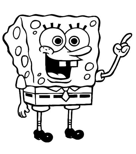 Kleurplaat Spongebob Printen by Kleurplaat Sponge Bob 1402