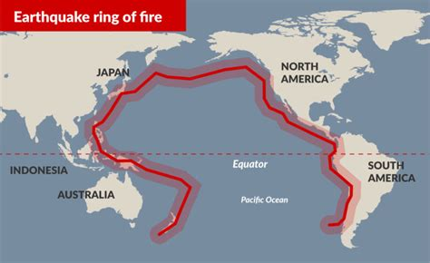 pacifics ring  fire   fire  infinity
